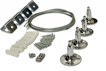 Комплект подвесов ASD LP-КПТ на тросах для панели светодиодной LLT