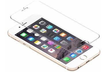 Защитное стекло 0,3 мм, 2,5 D, зеркальное для iPhone 4/4S Серебристый