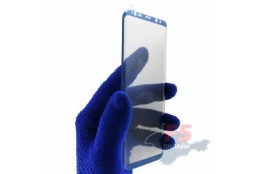 Защитное стекло 3D Krutoff Group для Samsung Galaxy S8+ blue