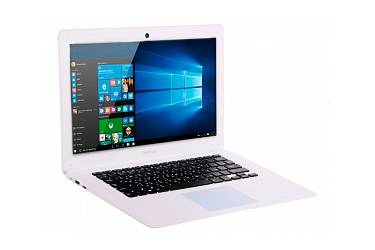Ноутбук Prestigio SmartBook 141A03 Atom Z3735F (1.83)/2GB/32GB SSD/14.1DVD нет/BT/Win10 White + мышь