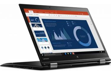 "Ультрабук Lenovo ThinkPad X1 Yoga Core i7 6600U/16Gb/SSD1Tb/Intel HD Graphics 520/14""/IPS/Touch/WQHD (2560x1440)/4G/Windows 10 Professional 64/black/WiFi/BT/Cam"