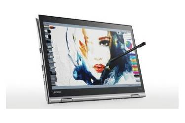 "Ультрабук Lenovo ThinkPad X1 Yoga Core i7 7500U/16Gb/SSD1Tb/Intel HD Graphics/14""/OLED/WQHD (2560x1440)/4G/Windows 10 Professional/silver/WiFi/BT/Cam"