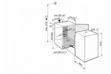 Freezer Liebherr IGS 1624 white