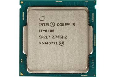 Процессор Intel Core i5 6400 Soc-1151 (2.7GHz/Intel HD Graphics 530) Box