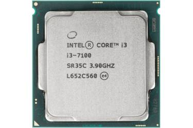 Процессор Intel Core i3 7100 Soc-1151 (3.9GHz/Intel HD Graphics 630) Box