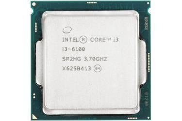 Процессор Intel Core i3 6100 Soc-1151 (3.7GHz/Intel HD Graphics 530) Box