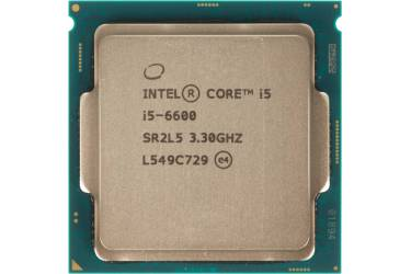 Процессор Intel Original Core i5 6600 Soc-1151 (BX80662I56600 S R2L5) (3.3GHz/Intel HD Graphics 530) Box