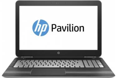 "Ноутбук HP Pavilion 15-bc202ur Core i7 7700HQ/12Gb/1Tb/SSD256Gb/nVidia GeForce GTX 1050 4Gb/15.6""/UHD (3840x2160)/Windows 10 64/silver/WiFi/BT/Cam"