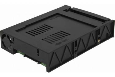"Сменный бокс для HDD AgeStar MR3-SATA(SW)-1F SATA II пластик черный 3.5"""
