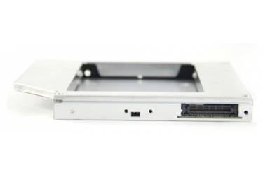 "Сменный бокс для HDD AgeStar ISMR2S SATA алюминий серебристый 2.5"""