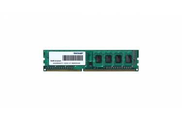 Память DDR3 4Gb 1333MHz Patriot PSD34G133381 RTL PC3-10600 CL9 DIMM 240-pin 1.5В