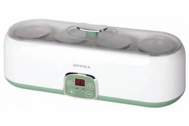 Йогуртница Supra YGS-8014 4б. 200мл упр.:электрон. зеленый