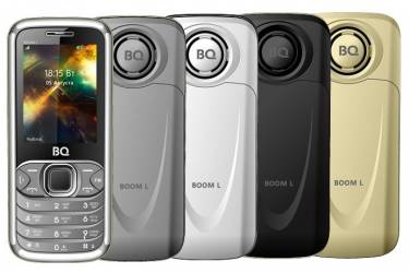 Мобильный телефон BQ-2427 BOOM L Серебряный