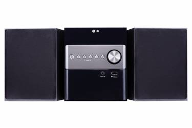 Музыкальный центр микро LG CM1560 черный 10Вт/CD/CDRW/FM/USB/BT