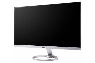 """Монитор Acer 27"""" H277HKSMIPUZ серебристый/черный IPS LED 4ms 16:9 HDMI M/M матовая 350cd 3840x2160 DisplayPort Ultra HD USB 4.8кг"""