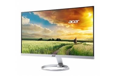 """Монитор Acer 27"""" H277HUsmipuz серебристый IPS LED 4ms 16:9 HDMI M/M полуматовая 350cd 2560x1440 DisplayPort QHD USB 4.13кг"""