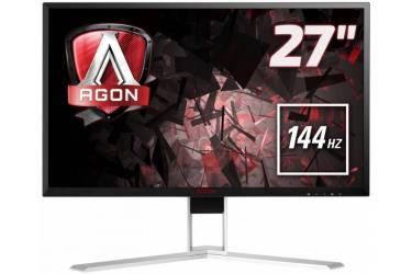 "Монитор AOC 27"" Gaming AG271QG черный/красный IPS LED 4ms 16:9 HDMI M/M матовая HAS Pivot 350cd 2560x1440 D-Sub DisplayPort QHD USB 6.8кг"