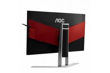"""Монитор AOC 27"""" Gaming AG271UG черный/красный IPS LED 16:9 HDMI M/M матовая HAS Pivot 300cd 3840x2160 DisplayPort Ultra HD USB 6.8кг"""