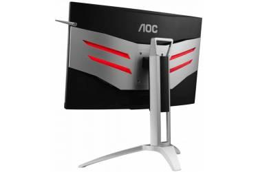 "Монитор AOC 27"" Gaming AG272FCX черный/красный MVA LED 16:9 HDMI M/M матовая HAS Pivot 250cd 1920x1080 D-Sub DisplayPort FHD USB 4.9кг"