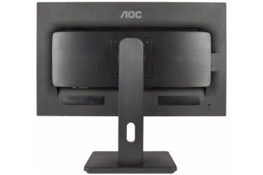 """Монитор AOC 27"""" Professional Q2775PQU черный IPS LED 16:9 DVI HDMI M/M матовая HAS Pivot 350cd 2560x1440 D-Sub DisplayPort QHD USB 6.6кг"""