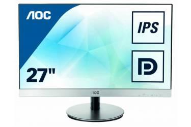 """Монитор AOC 27"""" Style i2769V(/01) серебристый IPS LED 5ms 16:9 DVI матовая 250cd 1920x1080 D-Sub FHD 4.99кг"""