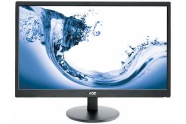 "Монитор AOC 27"" Value Line E2770Sh(00/01) черный TN+film LED 1ms 16:9 DVI HDMI M/M матовая 300cd 1920x1080 D-Sub FHD 4.8кг"