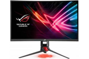 "Монитор Asus 27"" XG27VQ черный VA LED 16:9 DVI HDMI матовая HAS Pivot 3000:1 300cd 178гр/178гр 1920x1080 DisplayPort QHD 6.9кг"