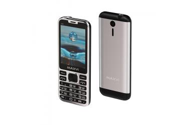 Мобильный телефон Maxvi X10 metallic silver
