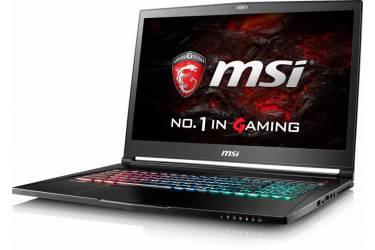 "Ноутбук MSI GS73VR 7RG(Stealth Pro)-014RU Core i7 7700HQ/32Gb/2Tb/SSD512Gb/nVidia GeForce GTX 1070 8Gb/17.3""/UHD (3280x2160)/Windows 10/black/WiFi/BT/Cam"