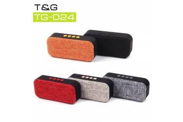 Беспроводная (bluetooth) акустика Portable TG024 (Оранжевый)