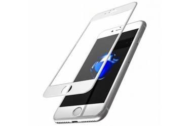 Защитное стекло 5D для Iphone X белый. тех пак