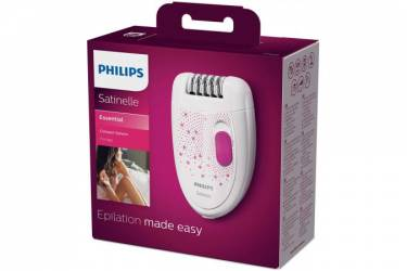 Эпилятор Philips HP6419/01 белый/розовый 21 пинцет