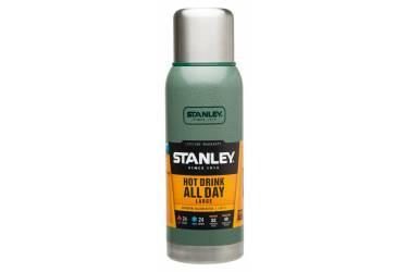 Термос Stanley Adventure (10-01570-005) 1л. зеленый/серебристый
