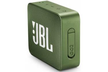 Беспроводная (bluetooth) акустика JBL Go 2 зеленая