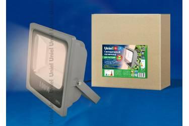 Прожектор светодиодный Uniel ULF-P40-50W/SPFR IP65 110-265В GREY для роста растений