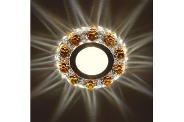 Светильник точечный Uniel DLS-L129 GU5.3 CHROME/GOLD без лампы
