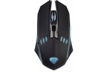 "mouse Perfeo ""GAME"", 4 кн, USB, чёрн, Game Design, RGB подсветка, 1400 DPI"