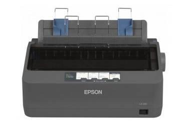 Принтер матричный Epson LX-350 A4 USB черный