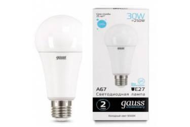 Лампа светодиодная GAUSS _A67_30W/4100K_E27 _Стандарт