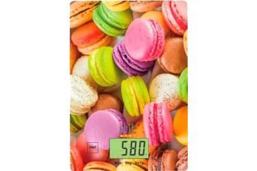 Весы кухонные электронные IRIT IR-7126 5кг стекло с рисунком