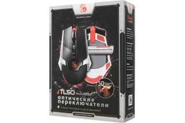Мышь A4 Bloody TL50 Terminator черный/серый лазерная (8200dpi) USB2.0 игровая (9but)