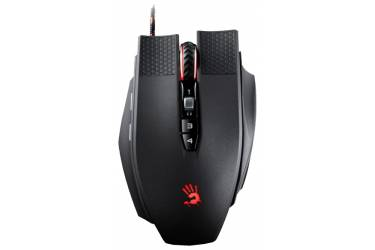 Мышь A4 Bloody TL9 Terminator черный/серый лазерная (8200dpi) USB2.0 игровая (9but)