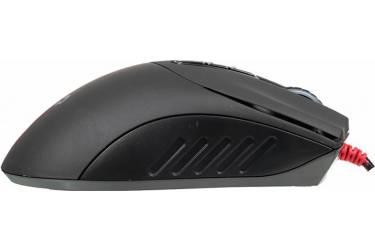 Мышь A4 Bloody V3M черный оптическая (3200dpi) USB игровая (8but)