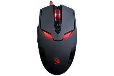 Мышь A4 Bloody V4M черный оптическая (3200dpi) USB игровая (8but)