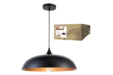 Светильник декоративный подвесной Uniel DLC-V105 E27 BLACK Fametto серия Vintage черн Д450