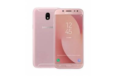 Оригинальный чехол (клип-кейс) для Samsung Galaxy J3 (2017) Dual Layer Cover розовый (EF-PJ330CPEGRU)