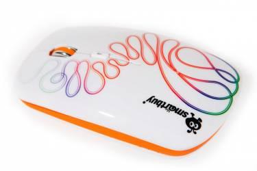 Компьютерная мышь Smartbuy Wireless 327AG принт белая