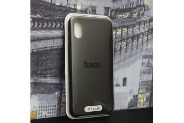 Силиконовый чехол HOCO PURE Series для iPhone X Black