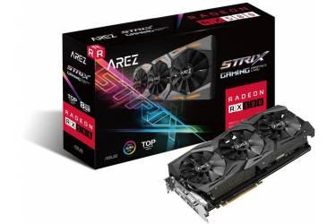 Видеокарта Asus PCI-E AREZ-STRIX-RX580-T8G-GAMING AMD Radeon RX 580 8192Mb 256bit GDDR5 1411/8000 DVIx1/HDMIx2/DPx2/HDCP Ret