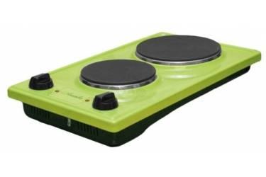 Плитка электрическая Лысьва ЭПБ 22 зеленый эмаль (настольная)